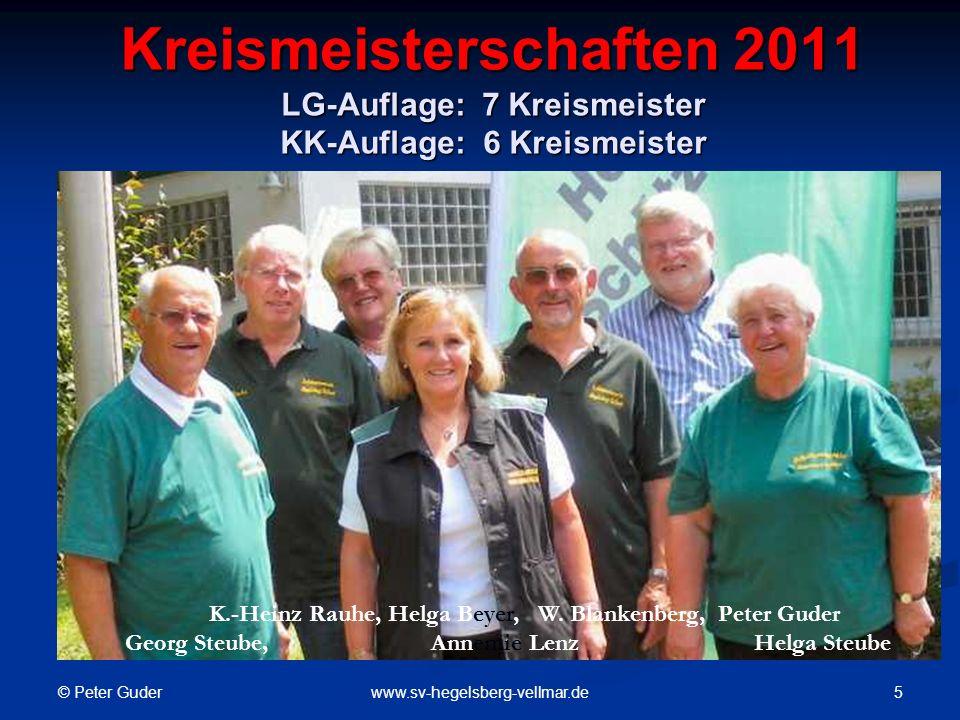 © Peter Guder 26www.sv-hegelsberg-vellmar.de Dies war ein kleiner Rückblick auf die Aktivitäten des Schützenvereins Hegelsberg-Vellmar im Jahr 2010.