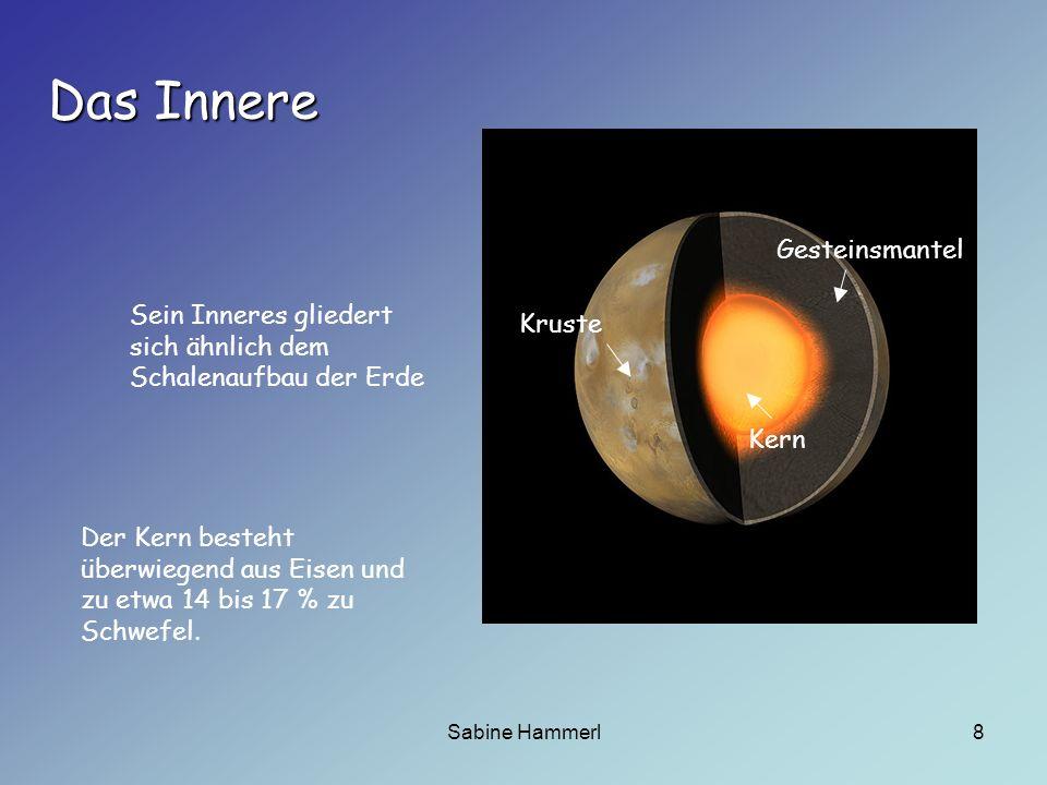 Sabine Hammerl9 Monde Zwei kleine Monde, Phobos und Deimos umkreisen den Mars.