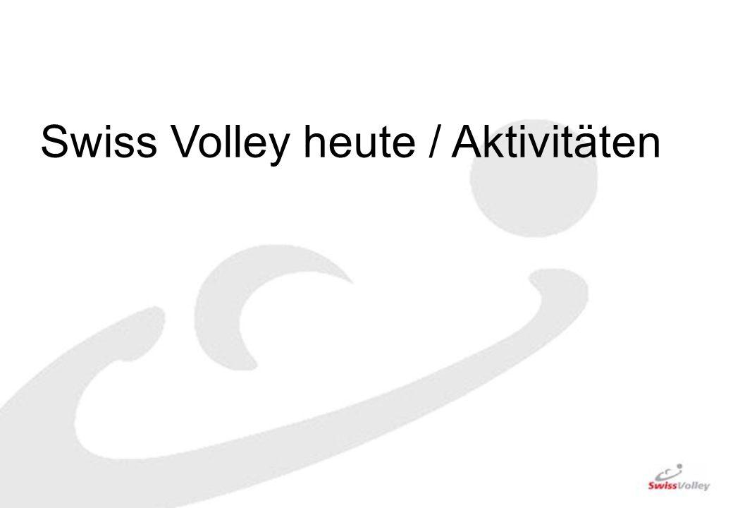 Swiss Volley heute / Aktivitäten