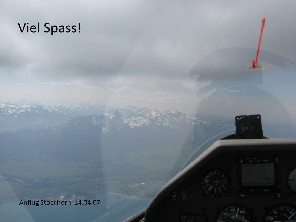 Viel Spass! Anflug Stockhorn, 14.04.07