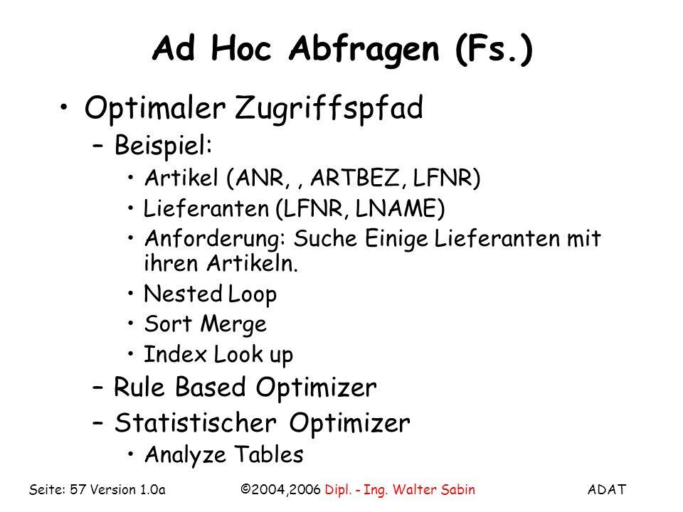 ADAT©2004,2006 Dipl. - Ing.