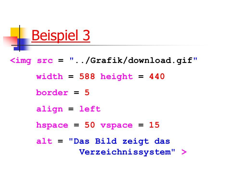 Beispiel 3 <img src =