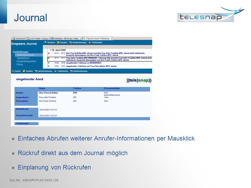Ms Outlook Doc.No.: ASE/APP/PLM/ 0155 / DE