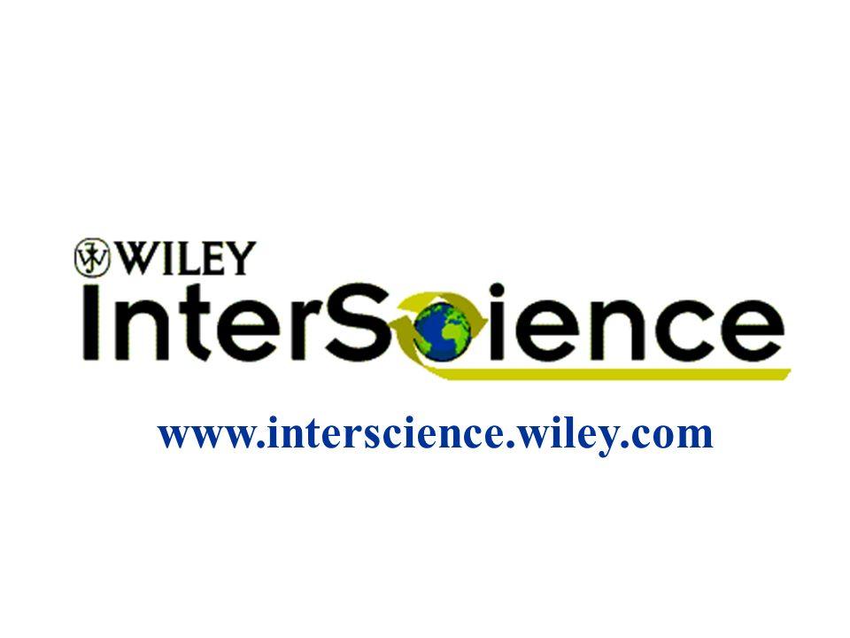 www.interscience.wiley.com