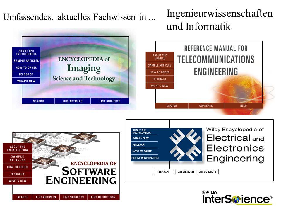 Ingenieurwissenschaften und Informatik Umfassendes, aktuelles Fachwissen in...