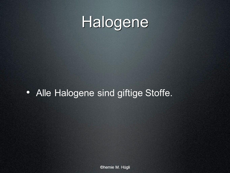 Nachweis für Halogenide Halogenide werden die Verbindungen von Halogenen mit einem Metall bezeichnet.