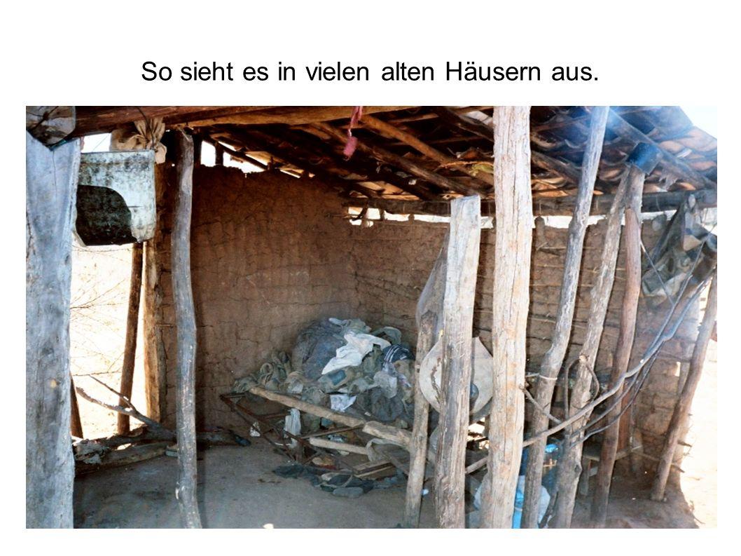 So sieht es in vielen alten Häusern aus.