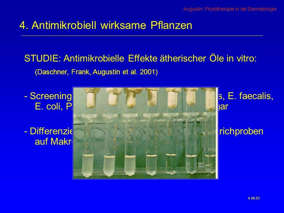 Augustin: Phytotherapie in der Dermatologie 4.46.03 4.