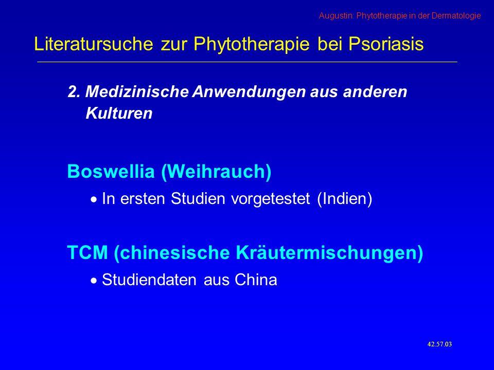 Augustin: Phytotherapie in der Dermatologie 2.