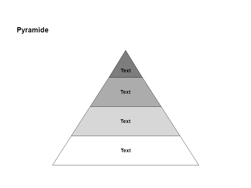 Text Pyramide