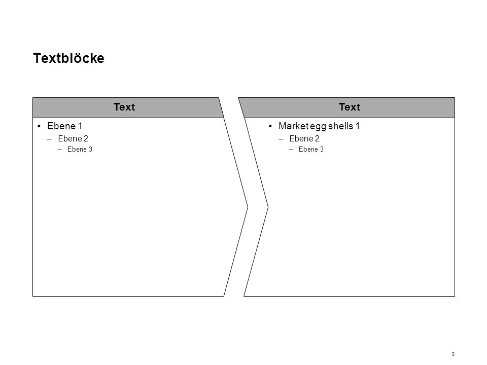10 Textblöcke Ebene 1 –Ebene 2 –Ebene 3 Ebene 1 –Ebene 2 –Ebene 3 Text