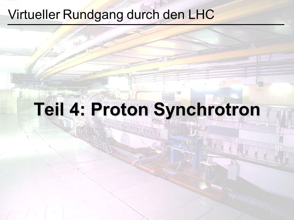 Teil 4: Proton Synchrotron Virtueller Rundgang durch den LHC
