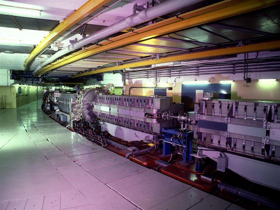 Hohlraumresonator Elektrisches Feld 0 + - Energiezuwachs positiv geladene Teilchen
