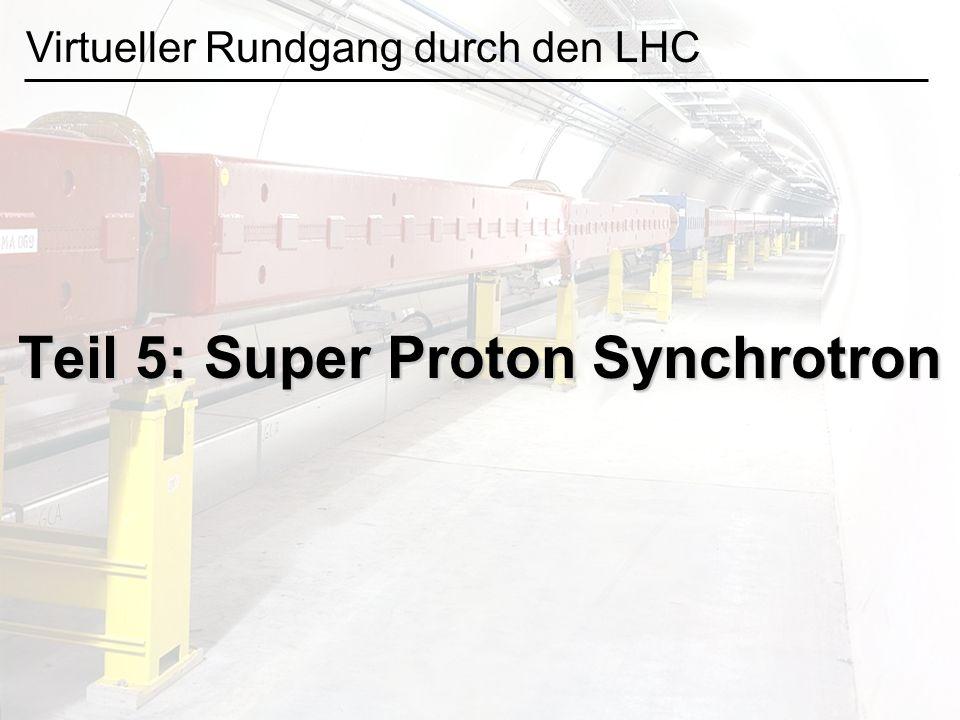 Teil 5: Super Proton Synchrotron Virtueller Rundgang durch den LHC