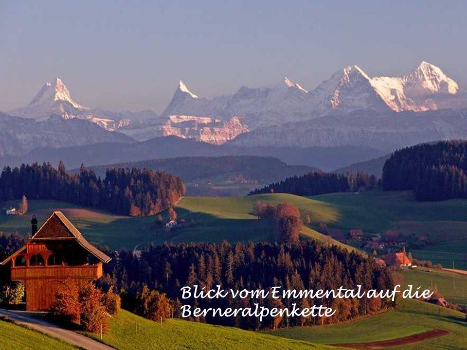steile Hügel im Emmental