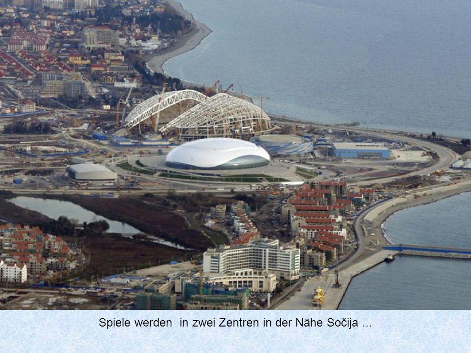 Die XXII. Olympischen Winterspiele werden zwischen 7 und 23 Januar 2014 stattfinden..
