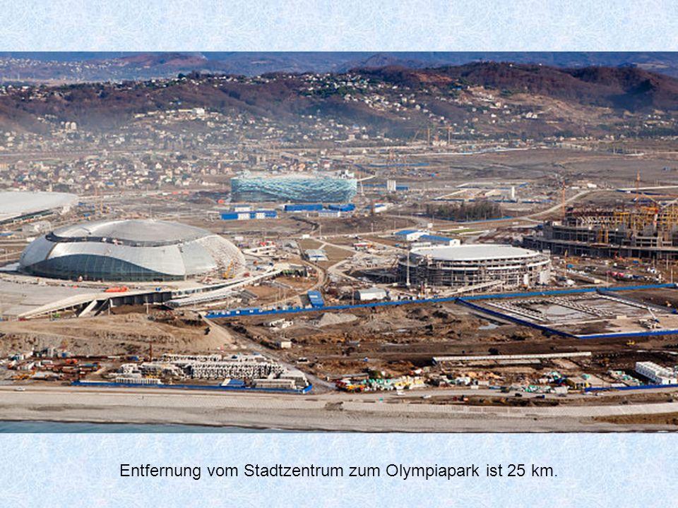 Sotschi der neu (Olympic) Bahnhof