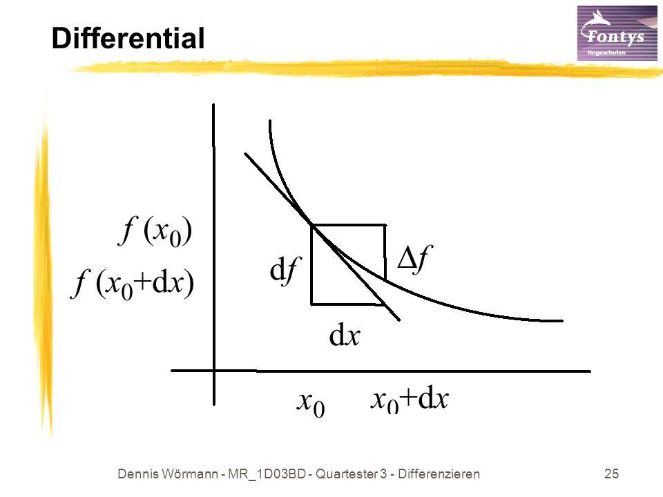 Dennis Wörmann - MR_1D03BD - Quartester 3 - Differenzieren25 Differential