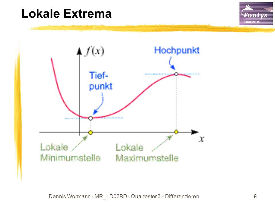 Dennis Wörmann - MR_1D03BD - Quartester 3 - Differenzieren8 Lokale Extrema