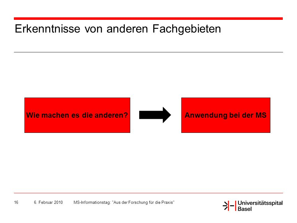 6. Februar 2010MS-Informationstag: