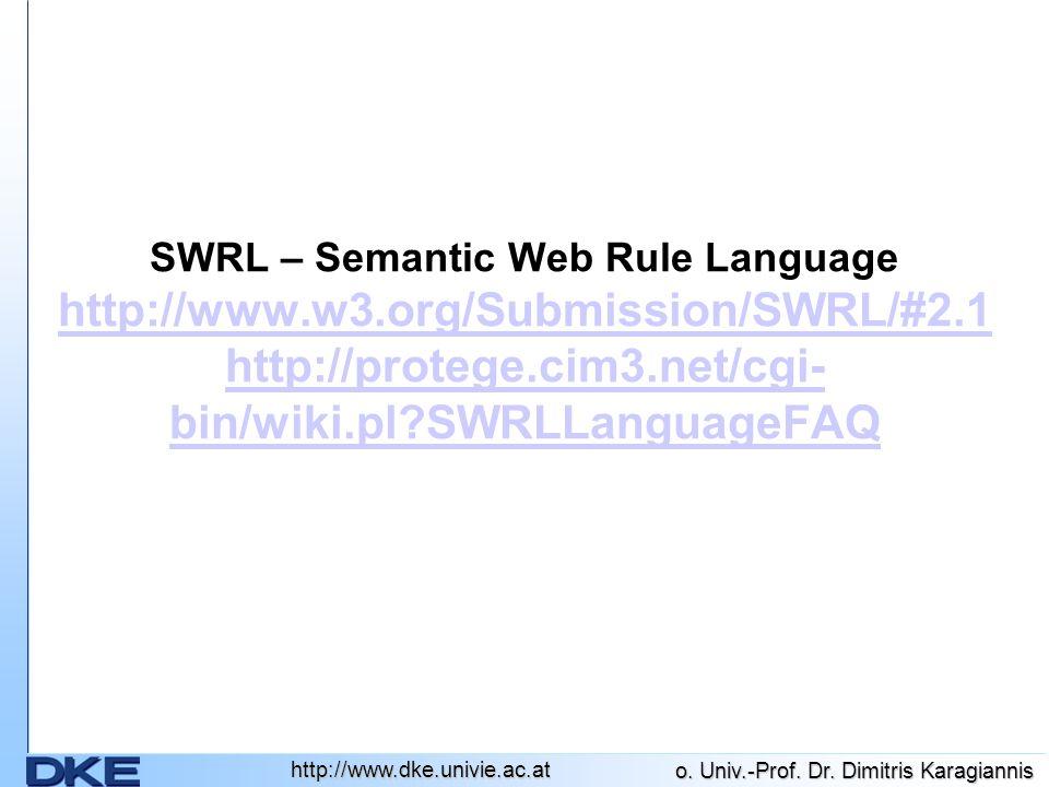 http://www.dke.univie.ac.at o.Univ.-Prof. Dr.