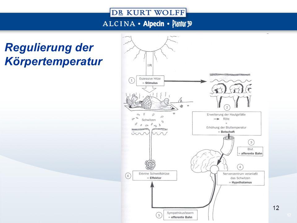 12 Regulierung der Körpertemperatur