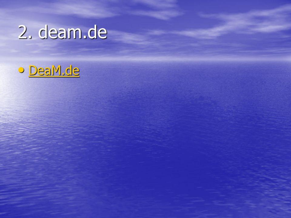 2. deam.de DeaM.de DeaM.de DeaM.de