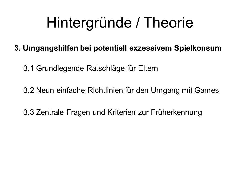 Hintergründe / Theorie 4.