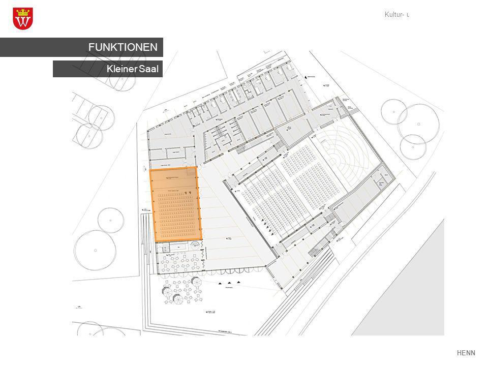 Kultur- und Veranstaltungshaus Weikersheim HENN Kleiner Saal FUNKTIONEN