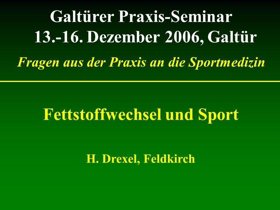 Galtürer Praxis-Seminar 13.-16.