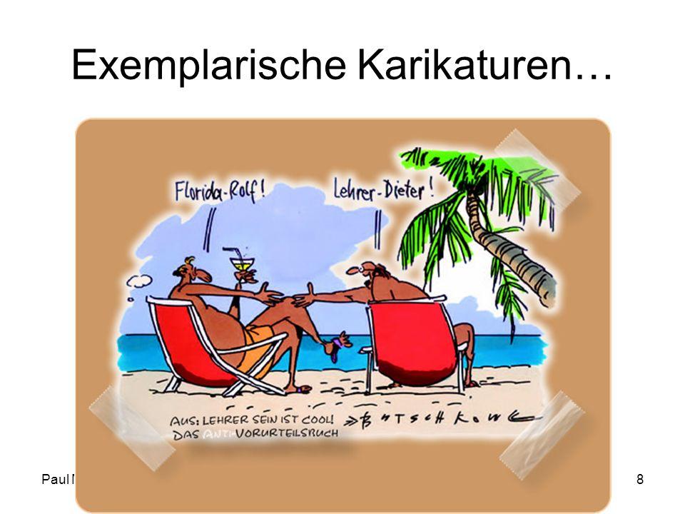 Paul MiottiFD IN I - HS 08/09 - Woche 018 Exemplarische Karikaturen…