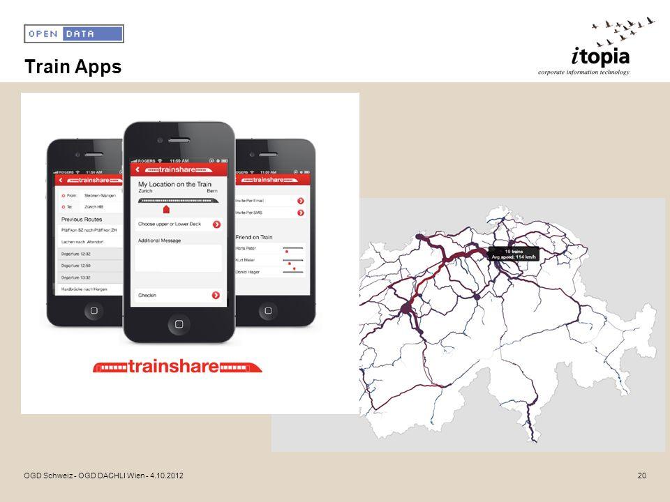 Train Apps 20OGD Schweiz - OGD DACHLI Wien - 4.10.2012