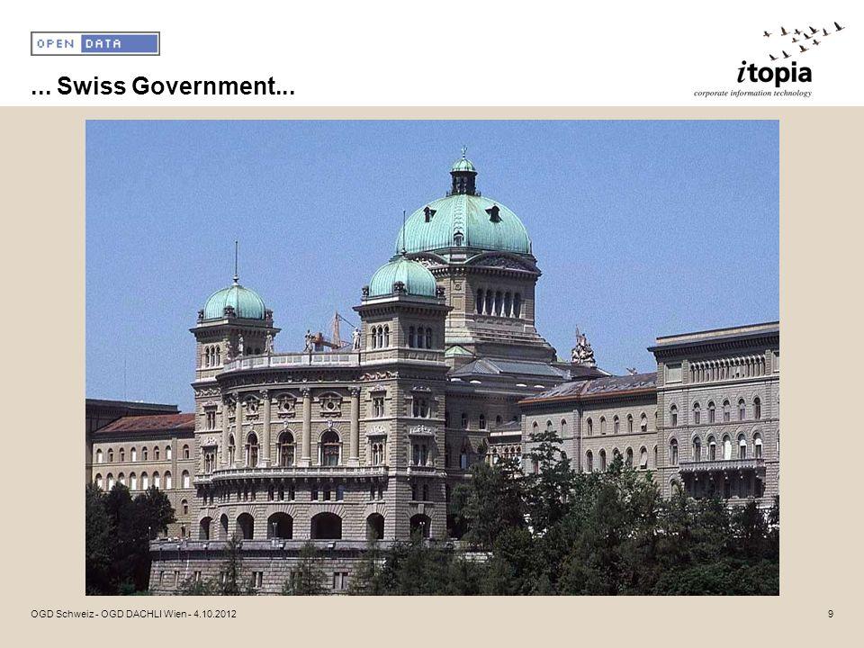 ... Swiss Government... 9OGD Schweiz - OGD DACHLI Wien - 4.10.2012