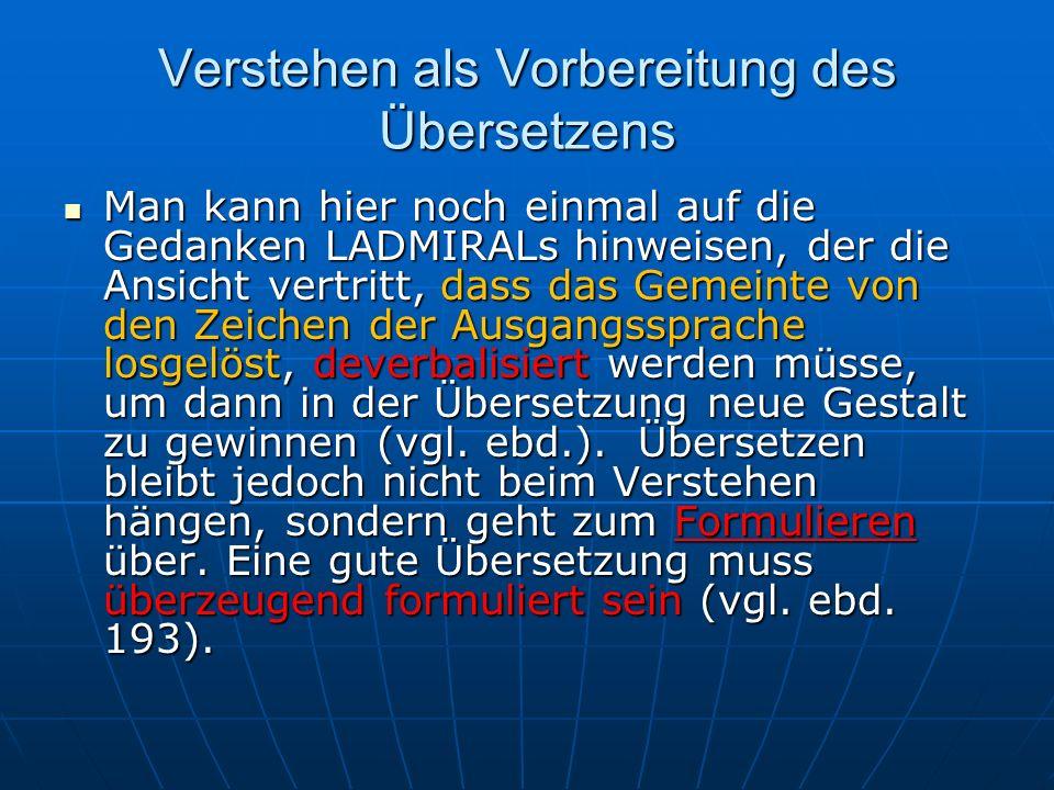 Die Eins-zu-Null -Entsprechung 4) Der AS-Ausdruck wird in der ZS umschrieben bzw.