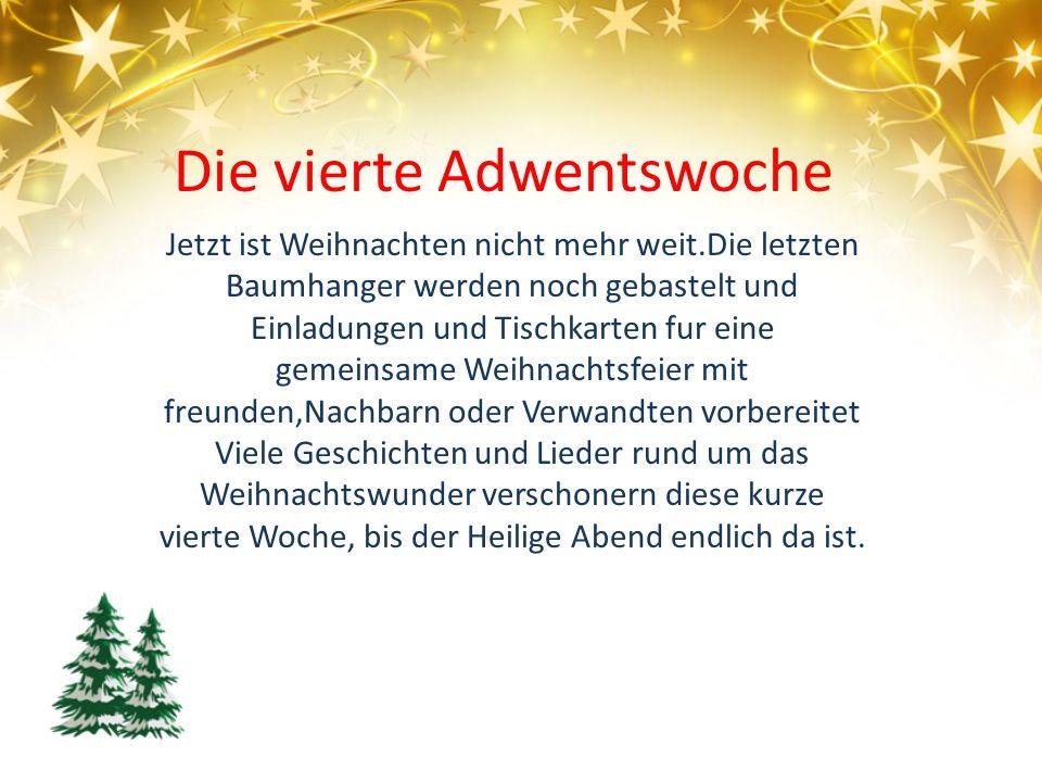 Jetzt ist Weihnachten nicht mehr weit.Die letzten Baumhanger werden noch gebastelt und Einladungen und Tischkarten fur eine gemeinsame Weihnachtsfeier