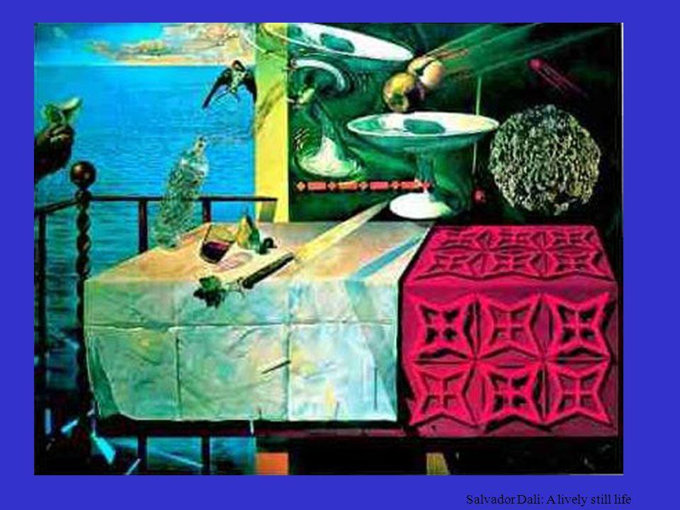 Salvador Dali: A lively still life