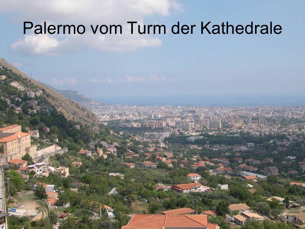 Palermo vom Turm der Kathedrale