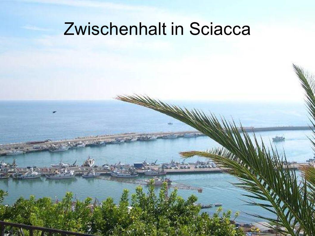 Zwischenhalt in Sciacca