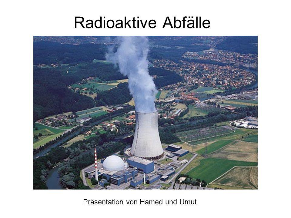 Inhaltsangabe - Was sind radioaktive Abfälle - Radioaktivität und dessen Gefahren - Schutzmassnahmen - Was ist eigentlich ein Endlager - Die verschiedenen Lagerungsstadien > Stadium 1: Zwischenlagerung > Stadium 2: Endlagerung > Der Unterschied zwischen der Endlagerung und der Zwischenlagerung - Wie werden die geologischen Tiefenlager ausgewählt > Was sind die Ziele des Sachplans - Warum gibt es in der Schweiz noch keine Tiefenlager?
