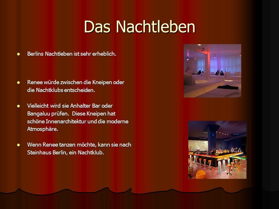 Das Nachtleben Berlins Nachtleben ist sehr erheblich. Berlins Nachtleben ist sehr erheblich. Renee würde zwischen die Kneipen oder Renee würde zwische