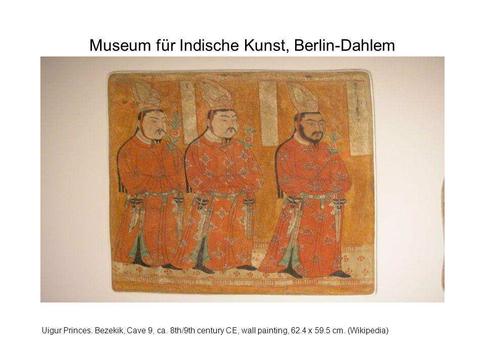 Museum für Indische Kunst, Berlin-Dahlem Uigur Princes.