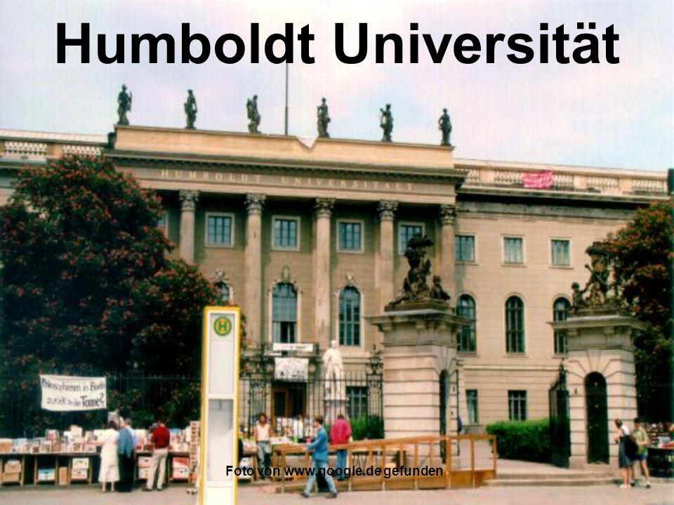 Foto von www.google.de gefunden Freie Universität