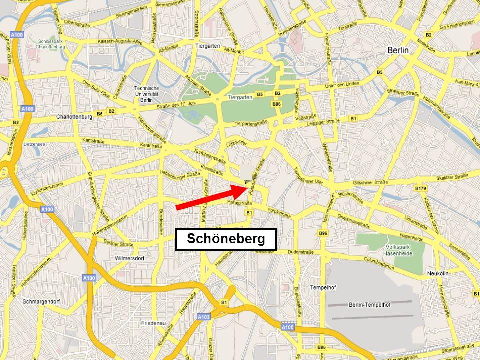 Schöneberg ist sehr toll… Kommen Sie und besuchen Sie uns!