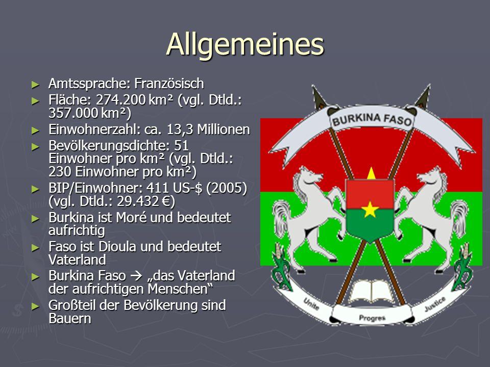 Allgemeines Amtssprache: Französisch Amtssprache: Französisch Fläche: 274.200 km² (vgl.