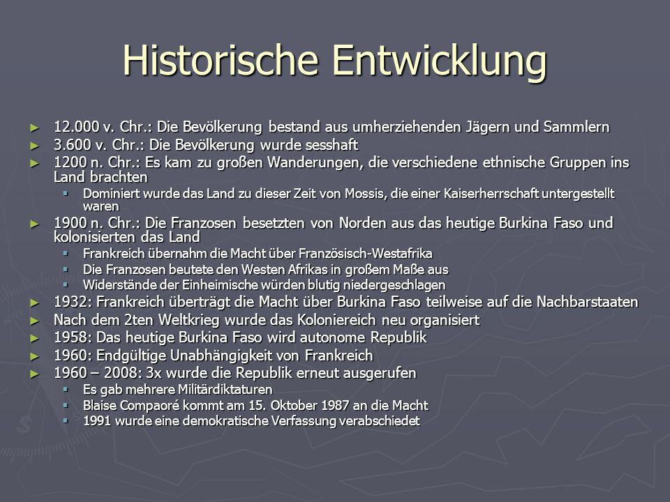 Historische Entwicklung 12.000 v.