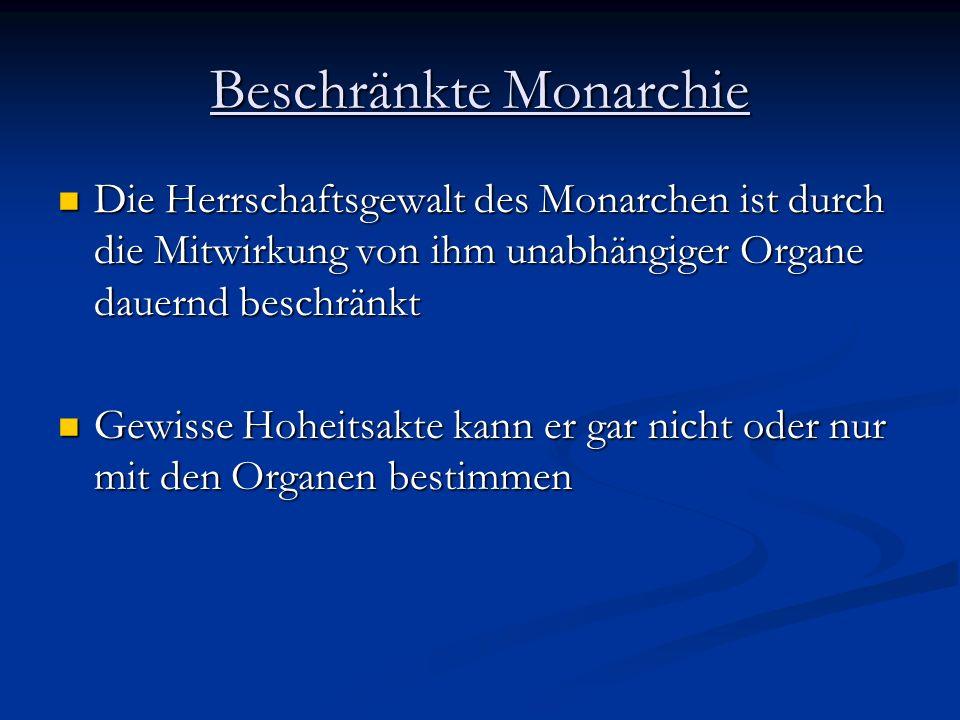Ständische Monarchie