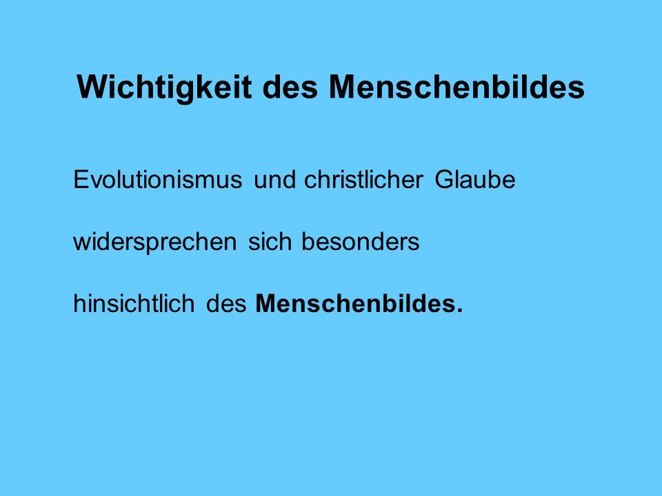 Huber 7: Quintessenz Daher ist wohl dem Evolutionsbiologen Stephen Jay Gould Recht zu geben, wenn er fragt: Warum sollte unsere Bösartigkeit das Gepäck einer äffischen Vergangenheit und unsere Gutartigkeit etwas exklusiv Menschliches sein.