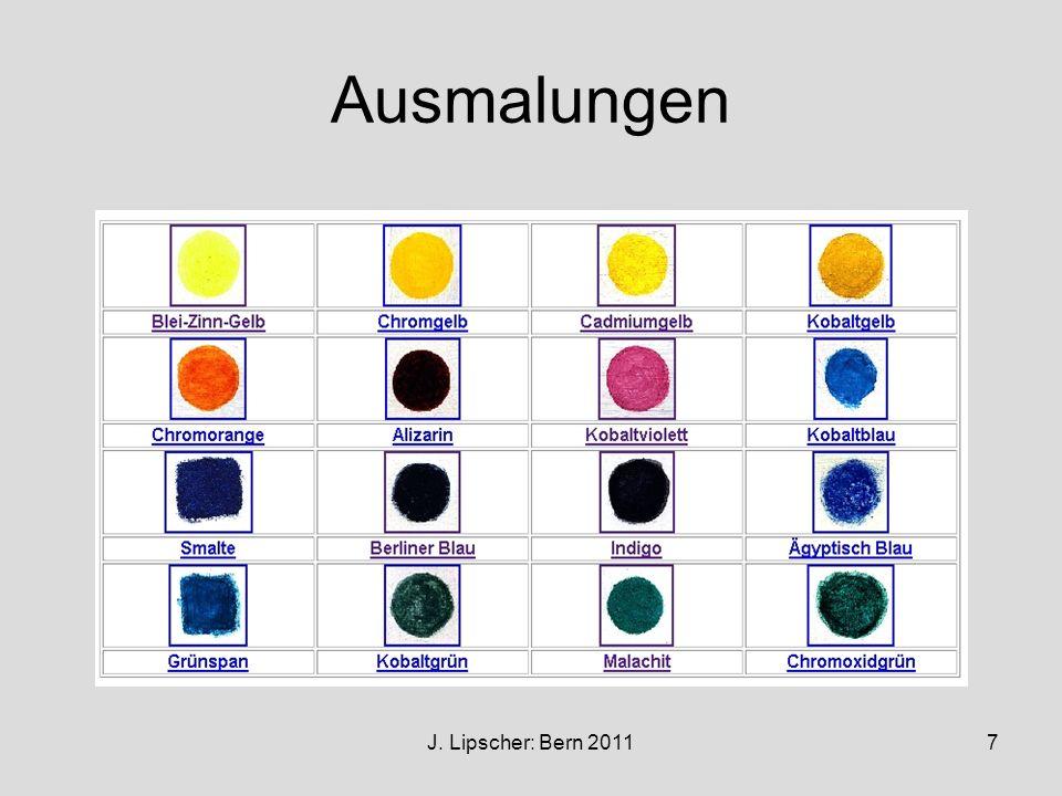 J. Lipscher: Bern 20117 Ausmalungen