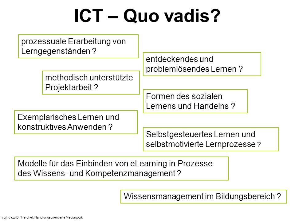 vgl. dazu D. Treichel, Handlungsorientierte Mediagogik ICT – Quo vadis.