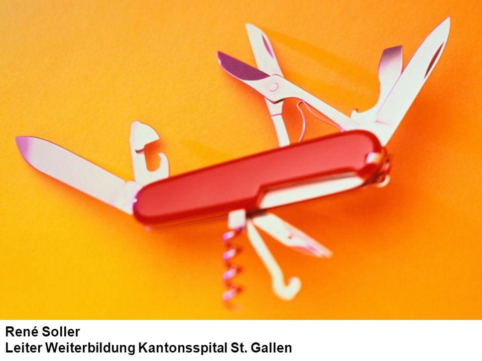René Soller Leiter Weiterbildung Kantonsspital St. Gallen